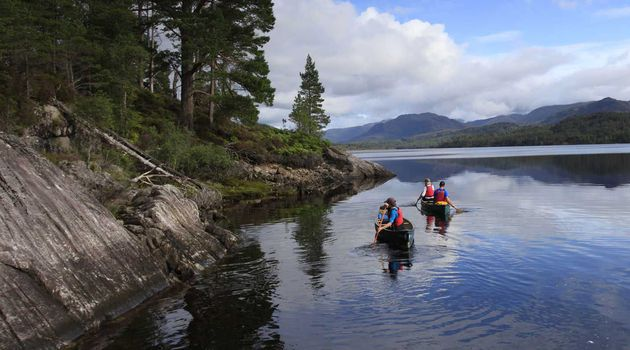 Canoeing on Loch Tay (1 5 hrs)