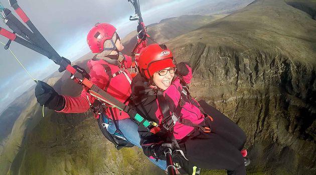 Paragliding Tandem Flight in Reykjavík